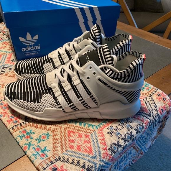 Adidas EQT Support ADV PrimeKnit (zebras) -9.5 sz